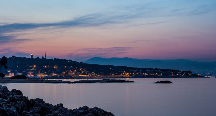 Landscape of Antibes