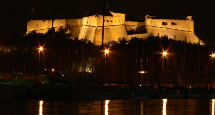 Fort Carré by night - Antibes
