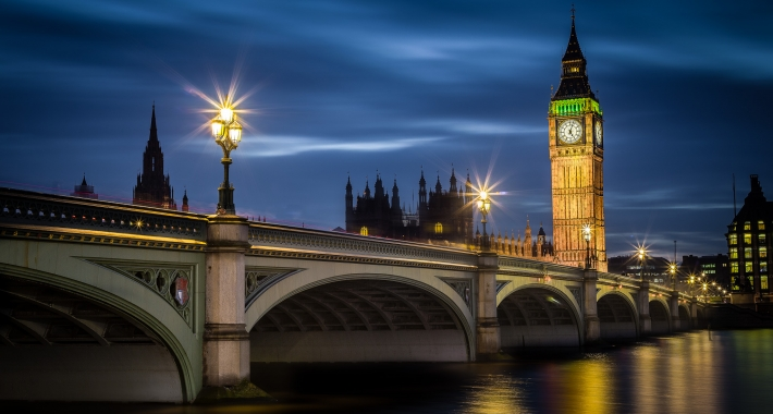 Big Ben e Westminster Bridge - Londra