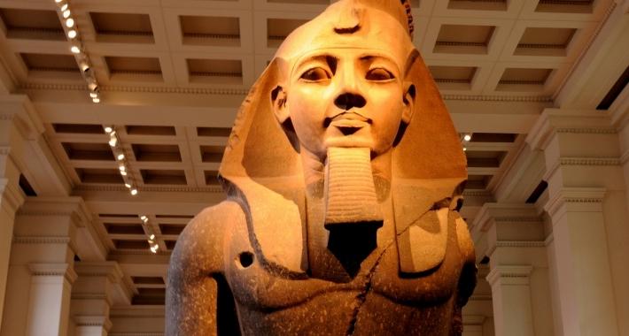 Ramesses II, British Museum, Londra