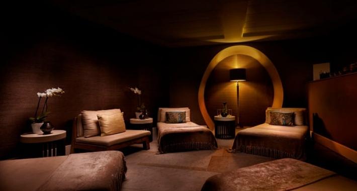 Area relax del St. Pancras Renaissance London Hotel, Londra