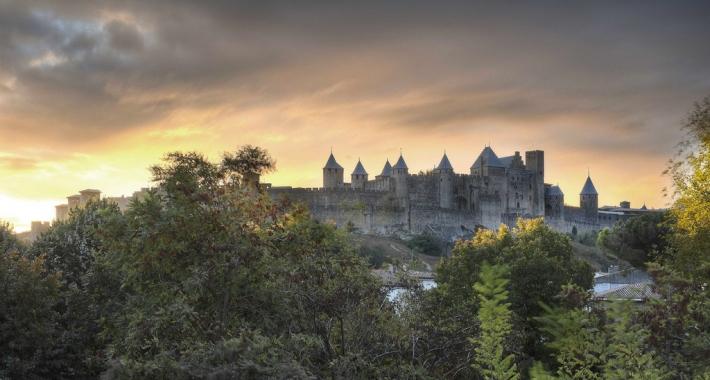 Carcassonne Citadel View