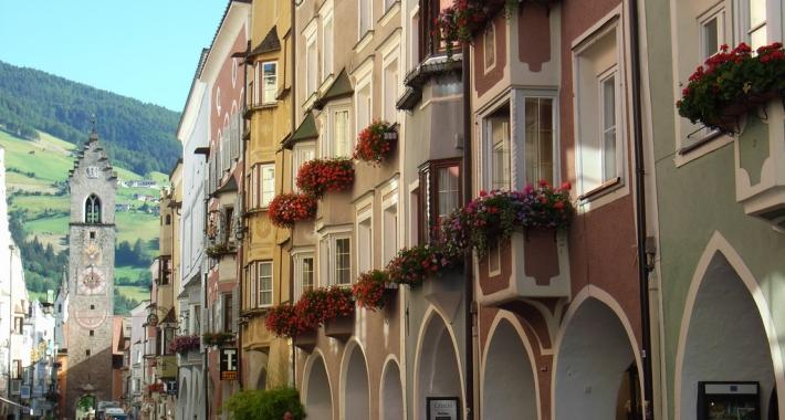 Sterzing Vipiteno - la vecchia città dei Fugger