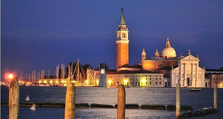 L'isola di San Giorno - Piazza San Marco Venezia