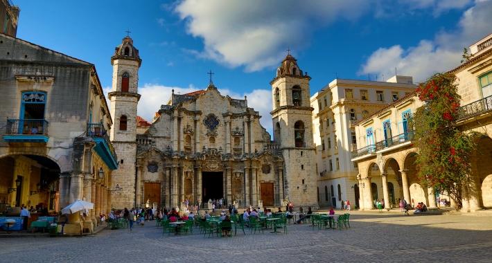 Plaza de la Cathedral, L'Avana, Cuba