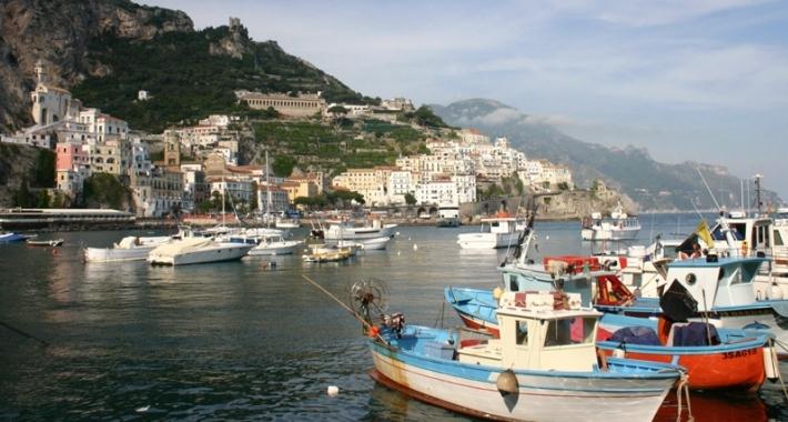 Il porto di Amalfi