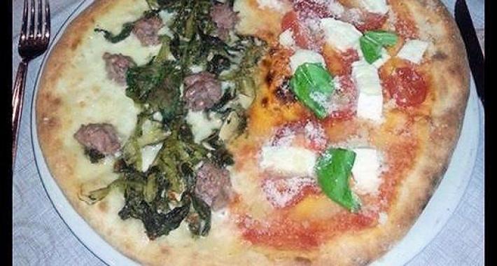 Pizza con kamut
