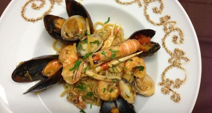 Paella, ristorante Domu, Barcellona