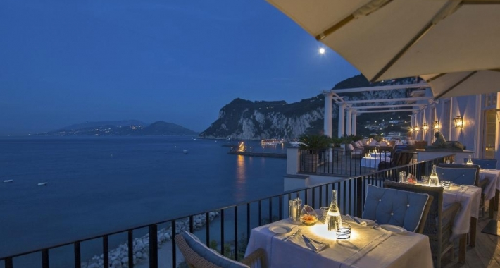 Cena romantica a Capri - Weekend a lume di candela