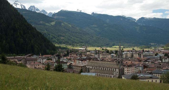 Panorama di Predazzo