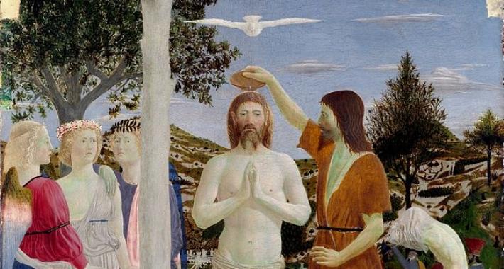 Battesimo di Cristo, Piero della Francesca.