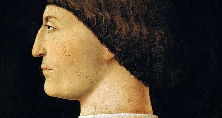 Ritratto di Sigismondo Pandolfo Malatesta, Piero della Francesca
