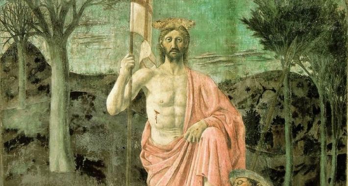 Resurrezione, Piero della Francesca.