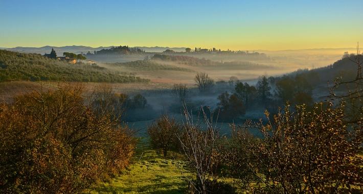 Colline toscane, Siena