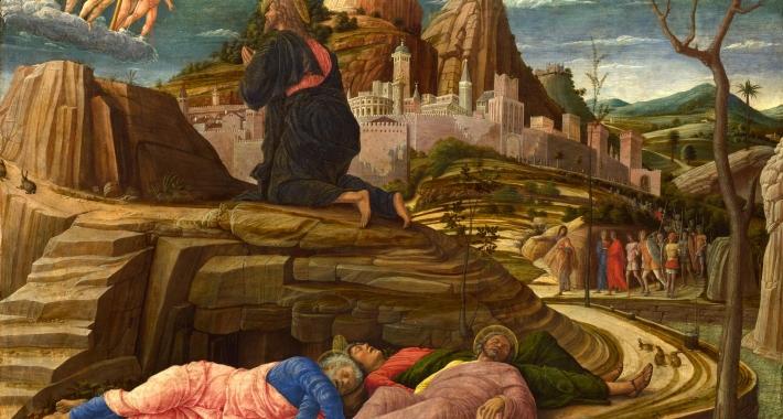 Orazione nell'orto, Andrea Mantegna