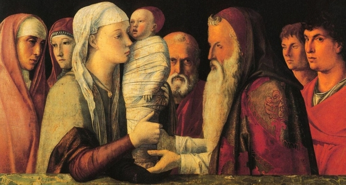 Presentazione al tempio, Andrea Mantegna