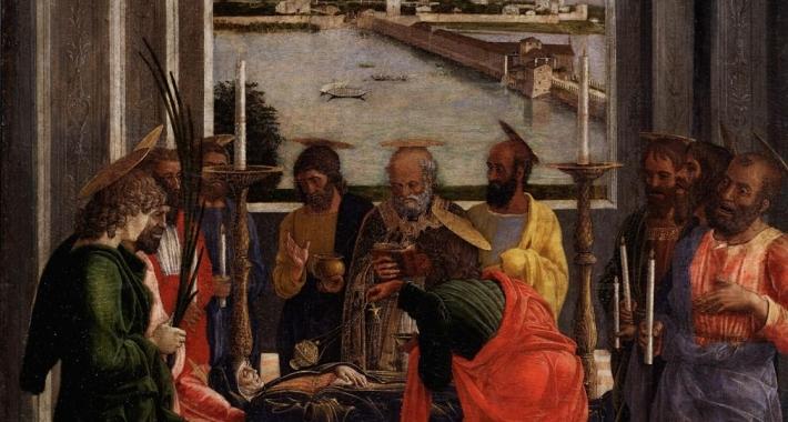 Morte della Vergine, Andrea Mantegna