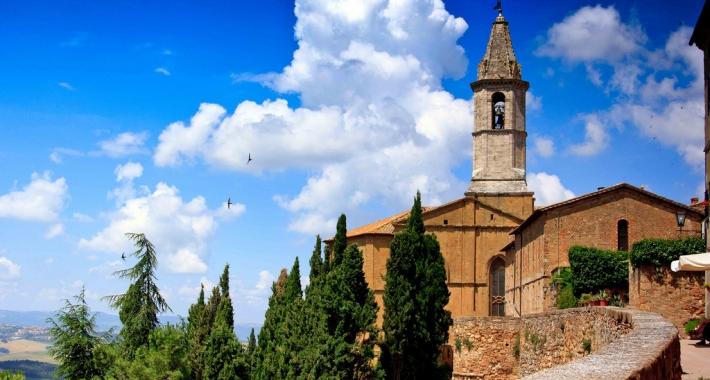 Chiesa di Pienza Italy