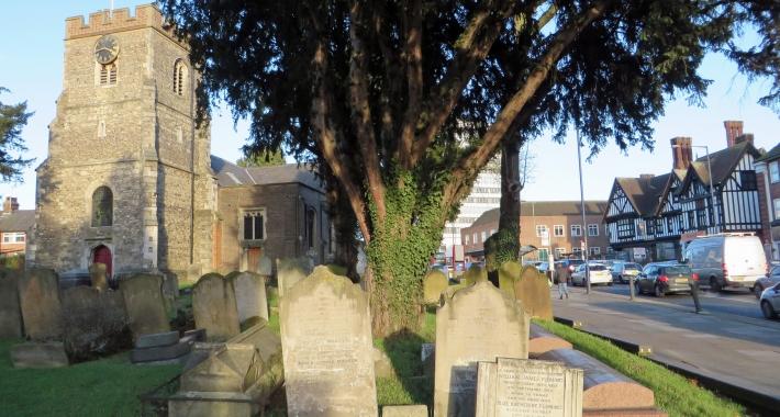 St Margaret of Antioch, Edgware, Barnet, Londra