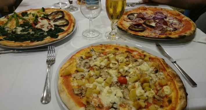Pizze ai vari gusti