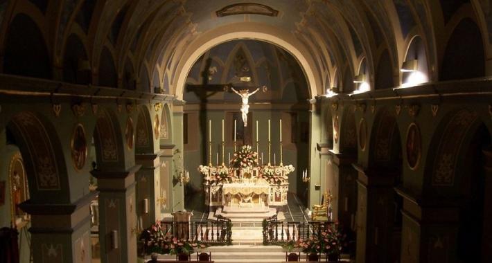 La chiesa di Santa Maria del Borgo