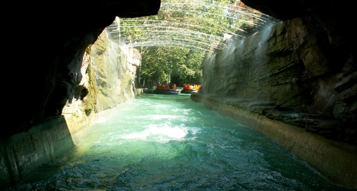 La grotta della doccia - Mirabilandia