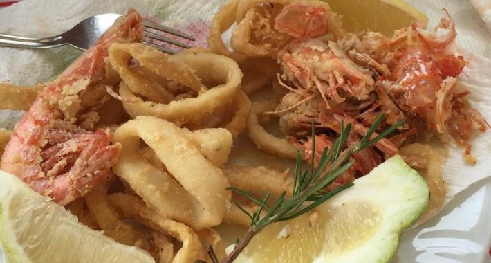 cartoccio di pesce fritto - La Betulla