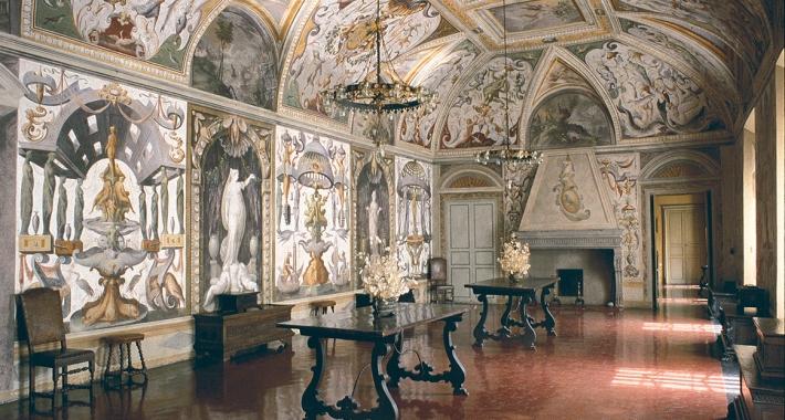 Rocca di Soragna, sala grottesche