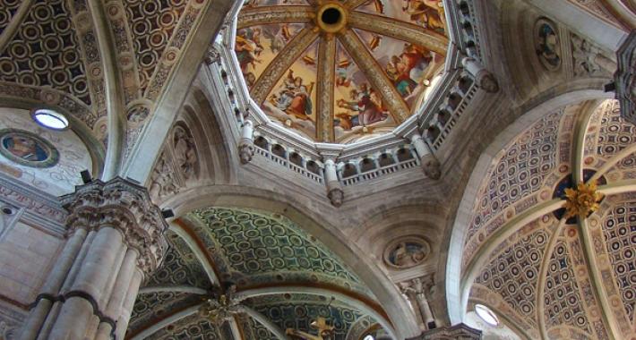 Certosa di Pavia, volta