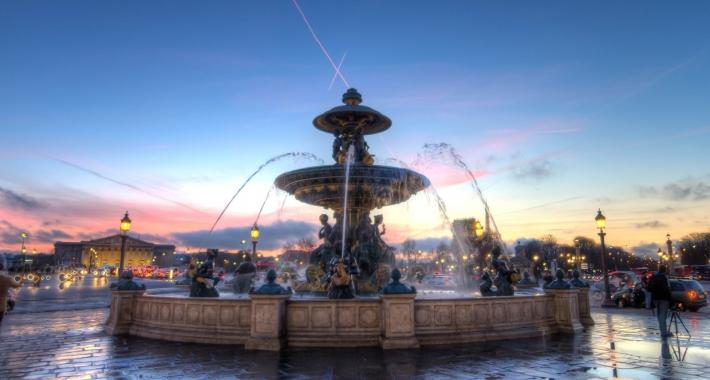 Fontana della Place de la Concorde, Parigi