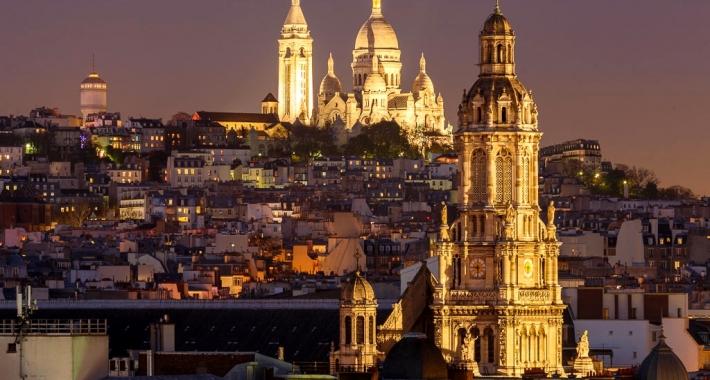 Basilica del Sacro Cuore e Cattedrale della Santissima Trinità. Parigi