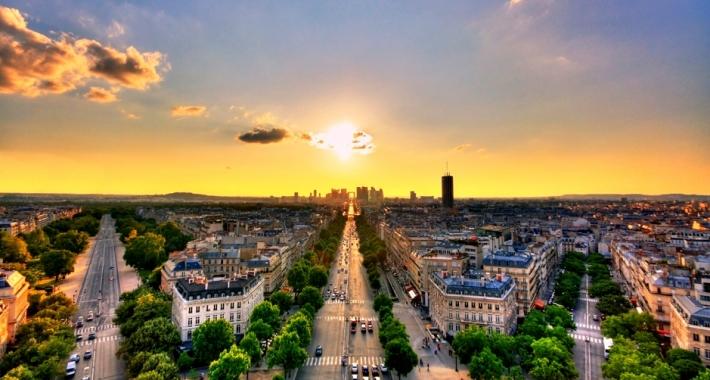 La Defense, Champs-Élysées, Parigi