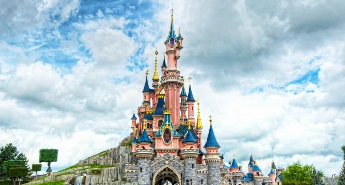 Castello della Bella Addormentata, Disneyland Parigi