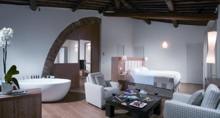 Camera dell'Hotel Borgo San Felice