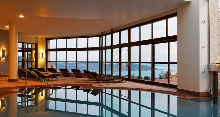 Piscina del Lefay Resort & SPA