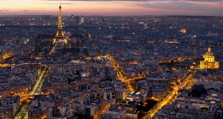 Veduta di Parigi dal Montparnasse