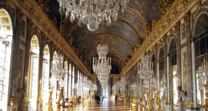 La Galerie des Glaces - Reggia di Versailles