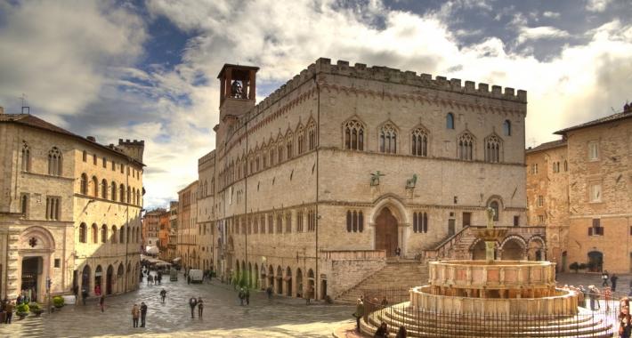 Il centro di Perugia