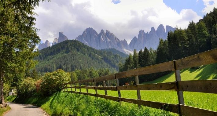 Val di Funes e le Odle Bolzano