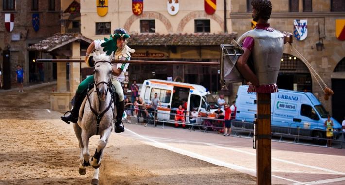 Giostra del Saracino, Arezzo