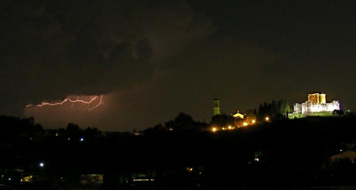 Tempesta notturna ad Arzignano