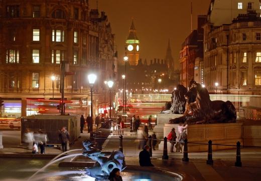 Trafalgar Square. Londra