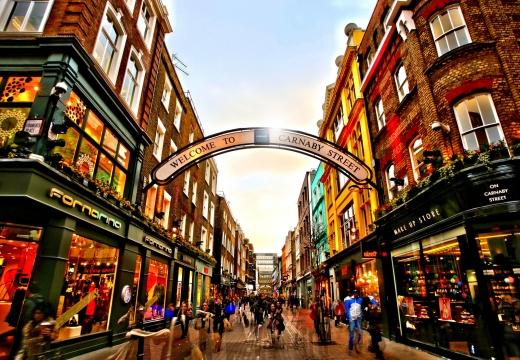 Carnaby Street, Londra