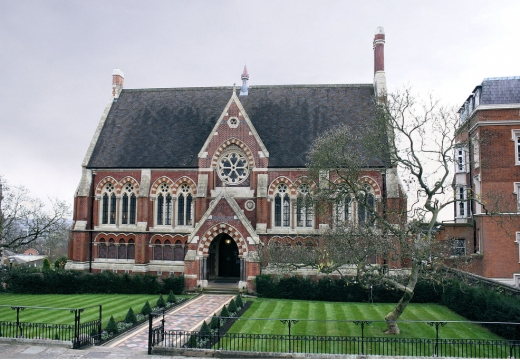 The Vaughan Library, Harrow School, Harrow on the Hill, Londra