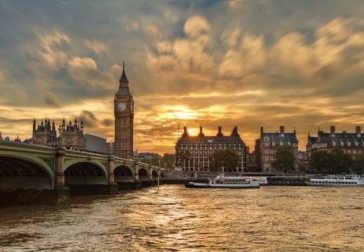 Big Ben al tramonto